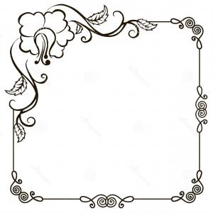 300x300 Photostock Vector Vintage Frame Label Blackboard Hand Drawn