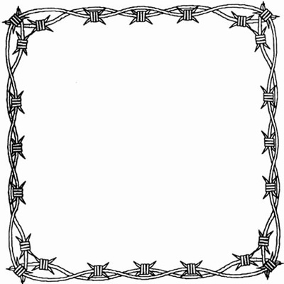 400x400 Western Clipart Picture Frame