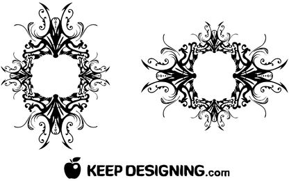 416x260 Western Frame Vector Graphics To Download