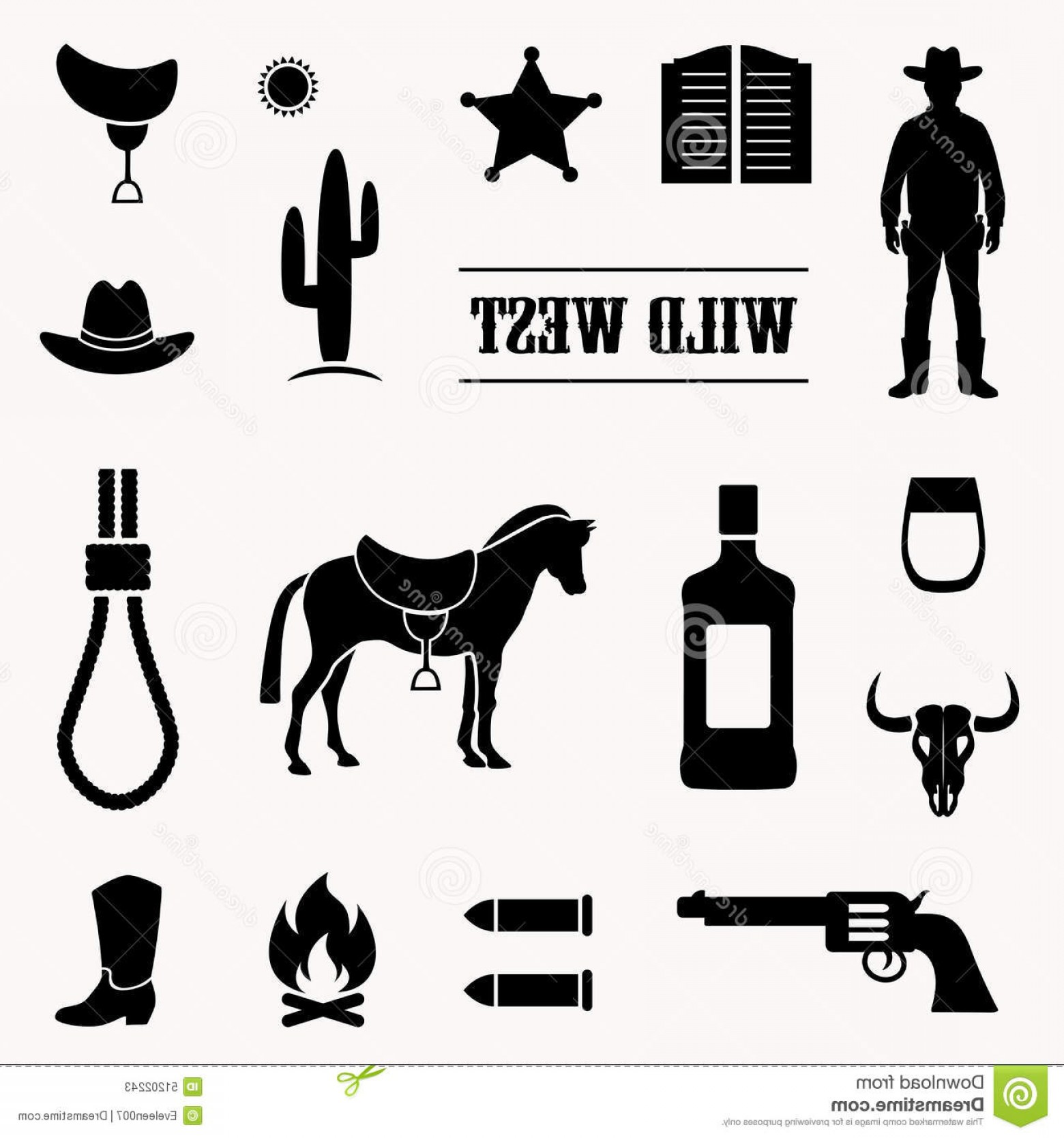 1560x1668 Horse Wild West Vector Lazttweet
