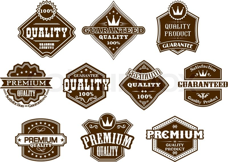 800x569 Labels And Banners In Western Style Stock Vector Colourbox