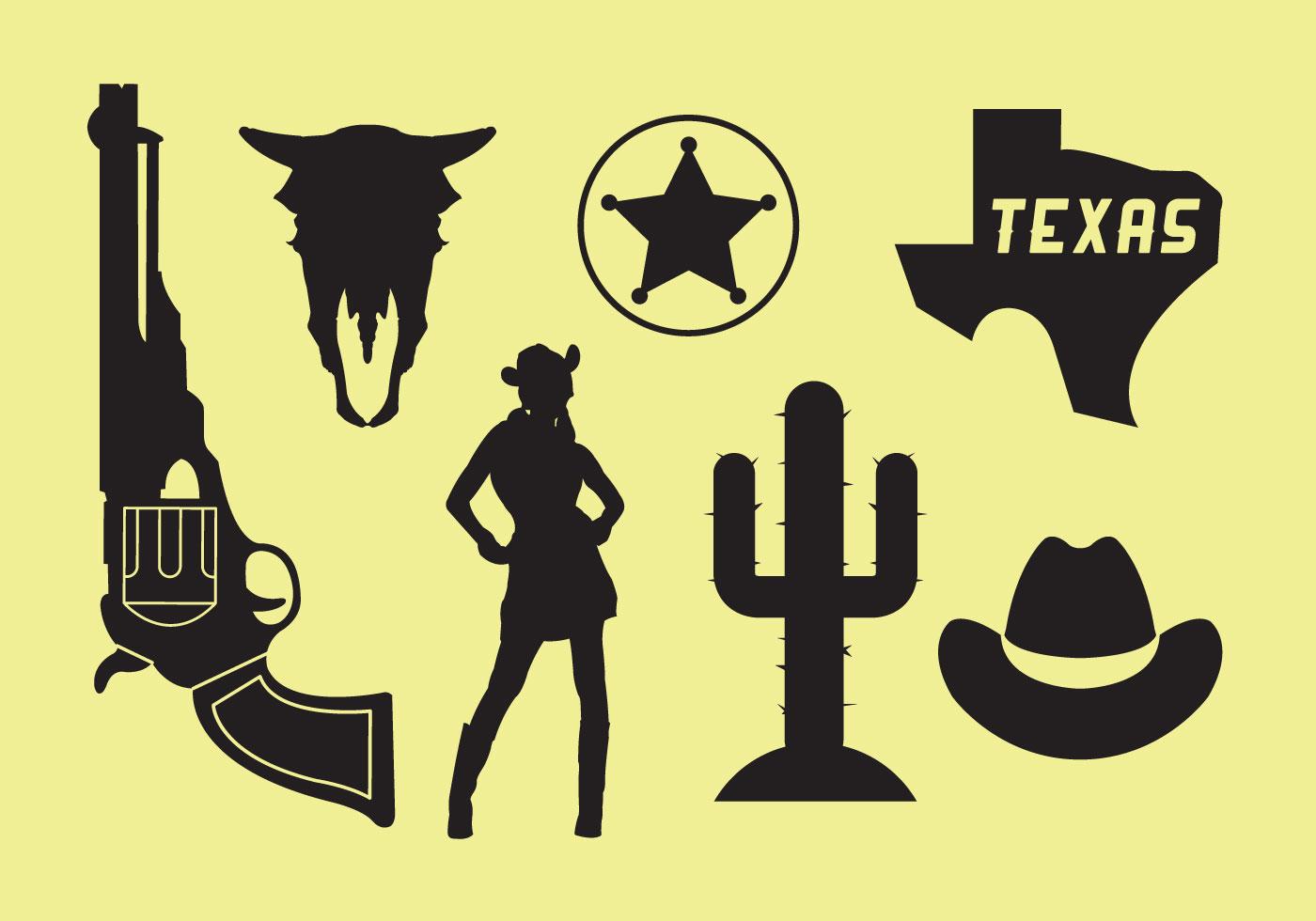 1400x980 Wild West Icons
