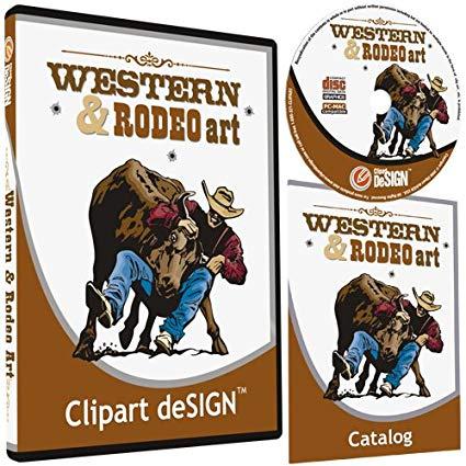 425x425 Cowboy Rodeo Western Horse Clipart Vinyl Cutter