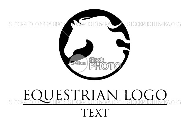 647x431 Horse Head Vector Logo Equestrian Silhouette Of The Horse