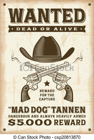 318x470 Poster Clipart Western ~ Frames ~ Illustrations ~ Hd Images