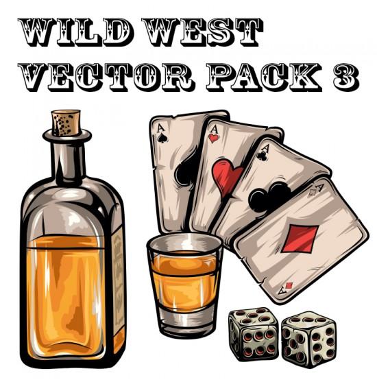550x560 Western Vector Set