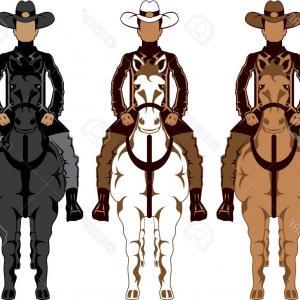 300x300 Wild West Vector Western Cowboy Sheriff Signs Hat Horseshoe