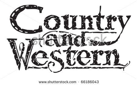 450x280 Country Western Dance Silhouettes Country Western Stock Photos