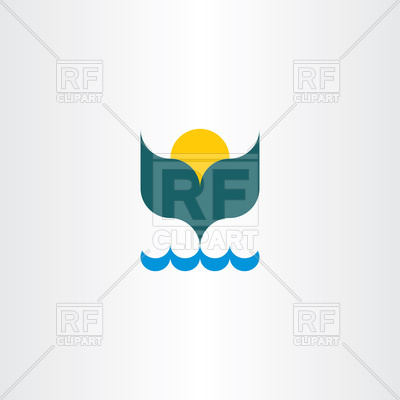 400x400 Whale Tail Icon Vector Image Vector Artwork Of Plants And