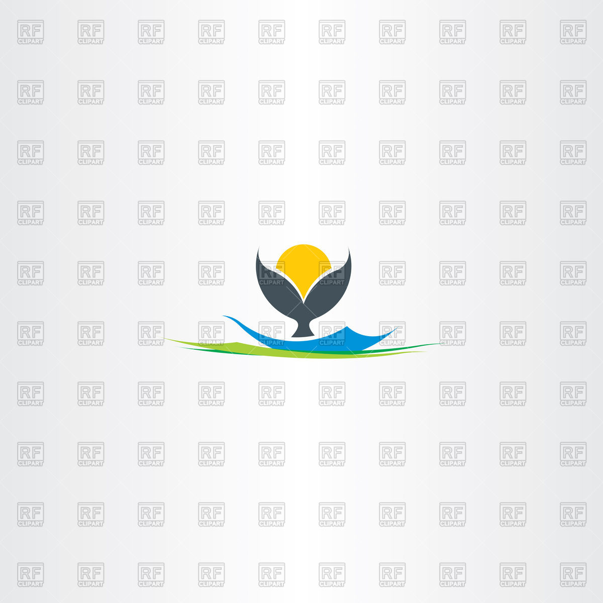 1200x1200 Whale Tail Icon Vector Image Vector Artwork Of Signs, Symbols