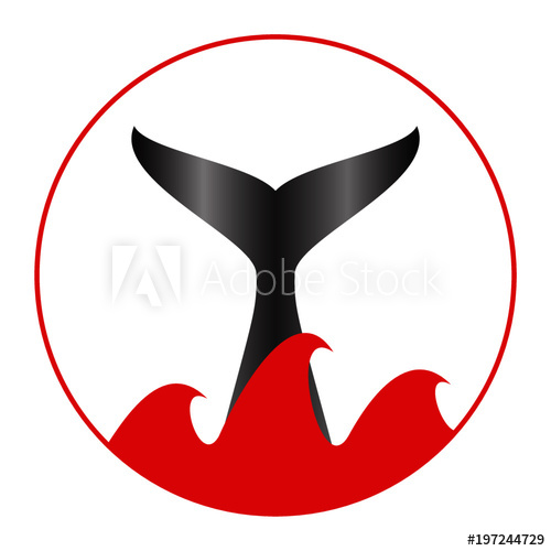 500x500 Whale Tail Vector