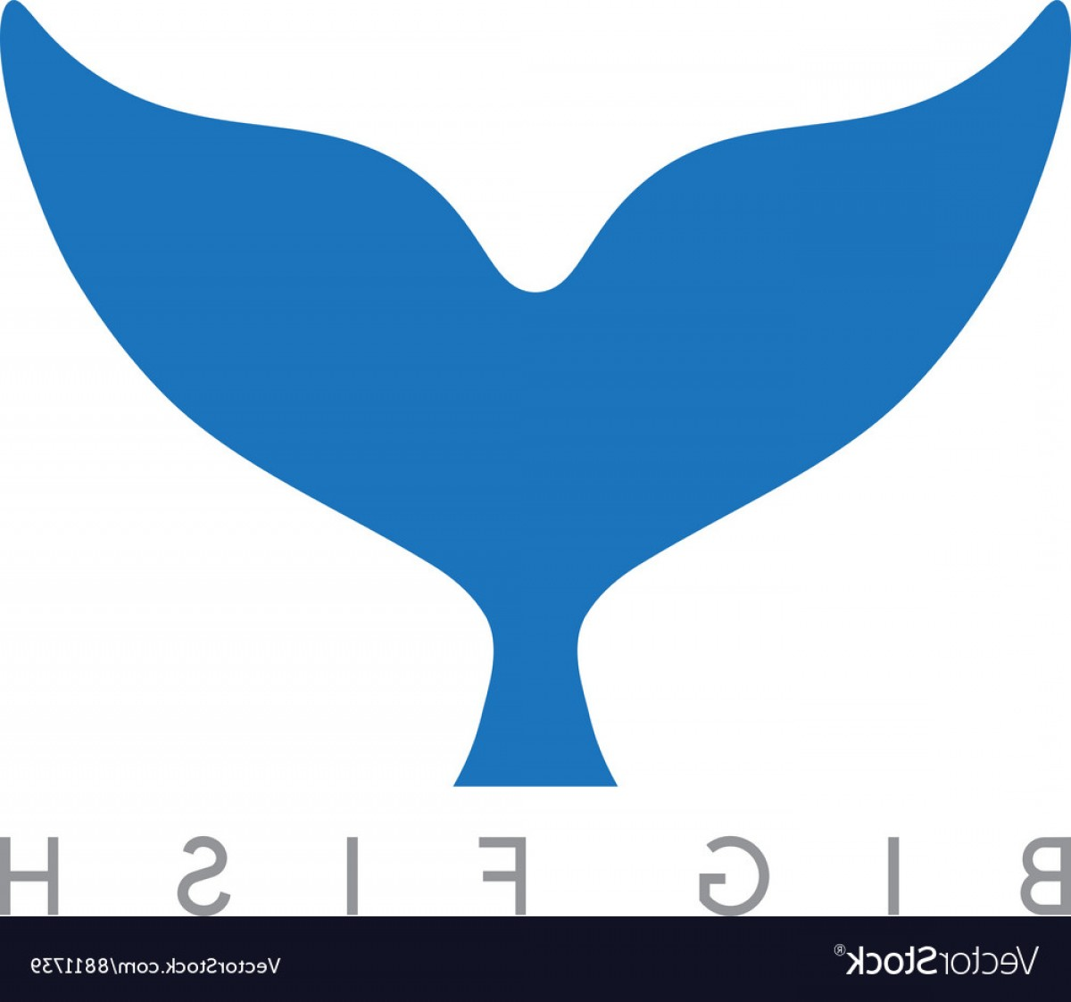 1200x1123 Abstract Design Template Of Whale Tail Vector Geekchicpro