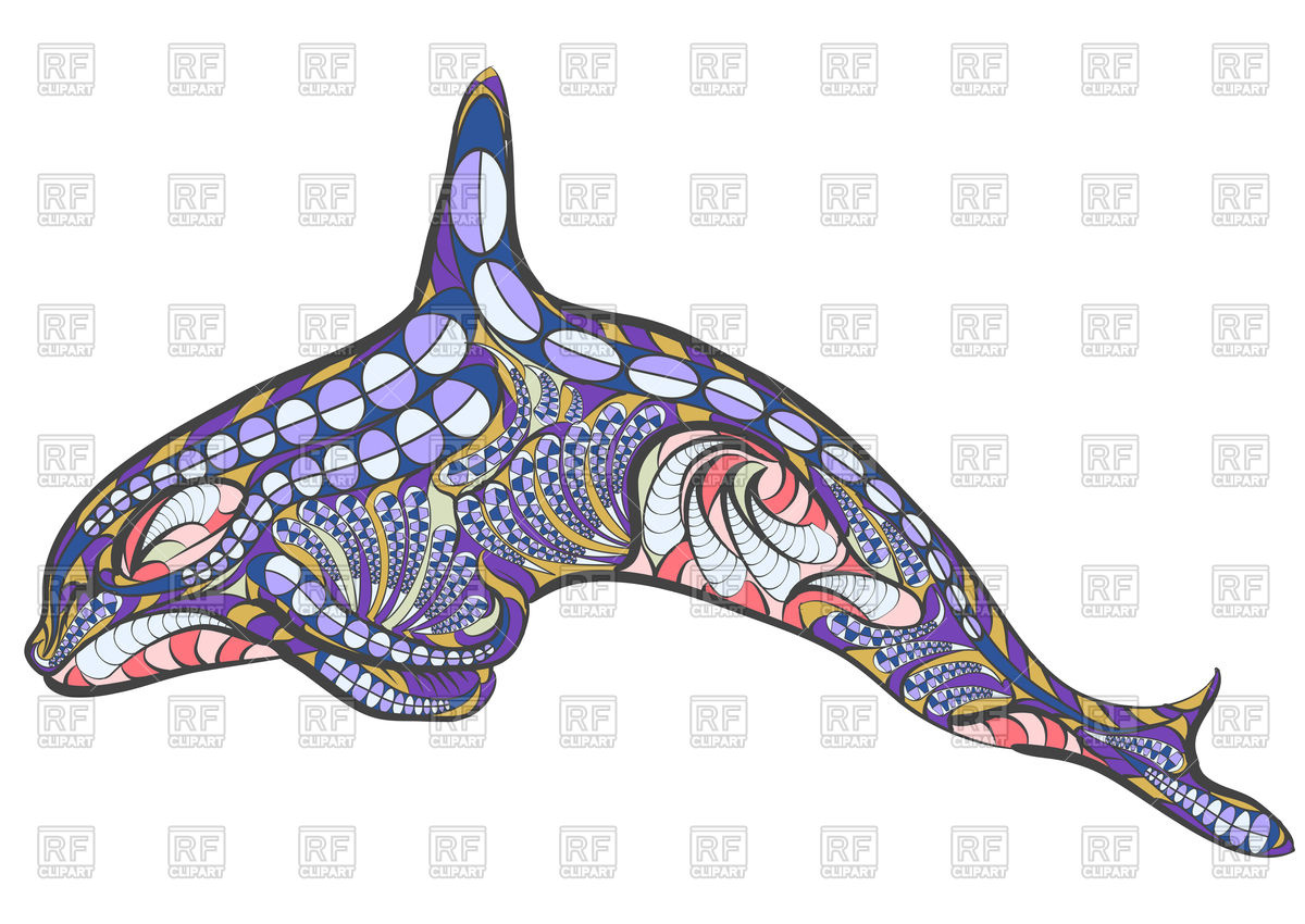 1200x850 Ethnic Killer Whale Vector Image Vector Artwork Of Plants And