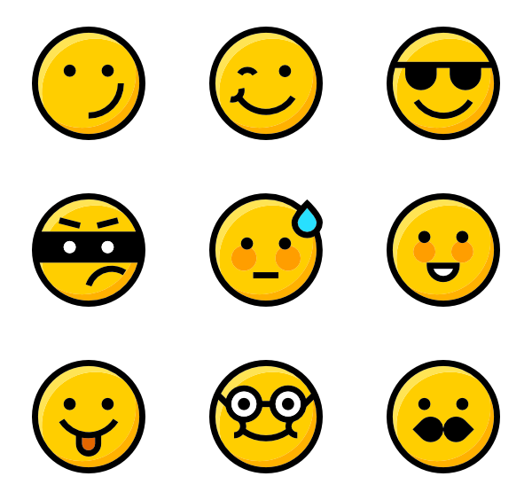 Whatsapp Emoji Vector