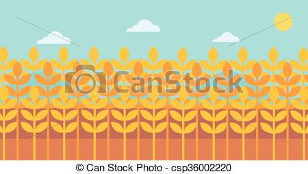 450x255 Background Of Wheat Field. Background Of Wheat Field Vector
