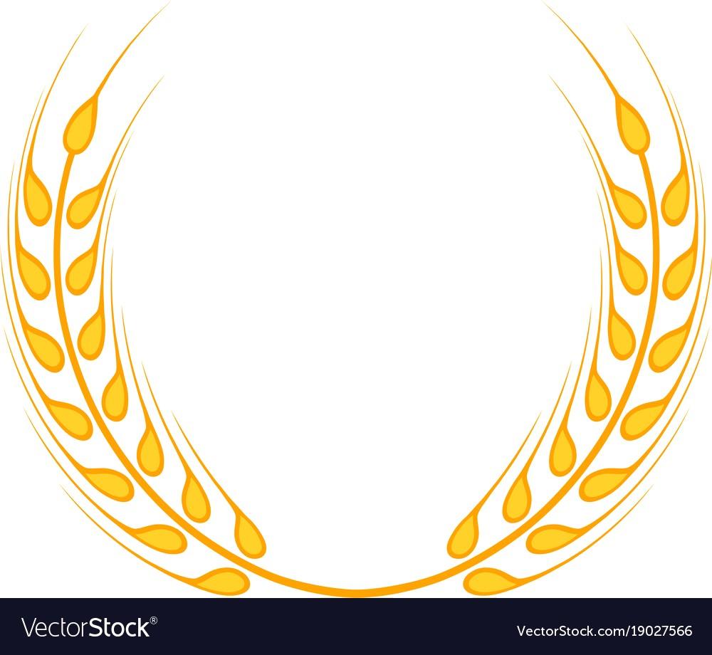 1000x920 Gold Laurel Wreath A Symbol Of The Winner Wheat Vector 19027566 20