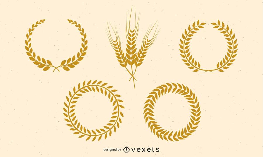 900x537 Golden Wheat Vector
