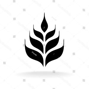 300x300 Wheat Vector Icon Simple Black Logo Arenawp