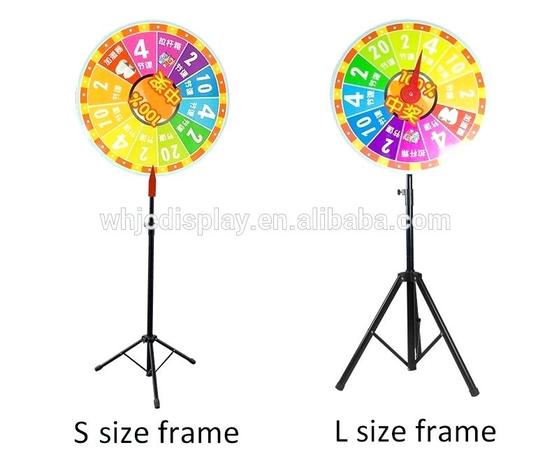 790x657 Wheel Of Fortune Stand Floor Stand Tripod Base Wooden Retro Stock