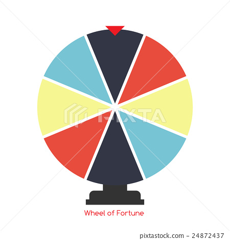 450x468 Wheel Of Fortune, Lucky Icon. Vector Illustration