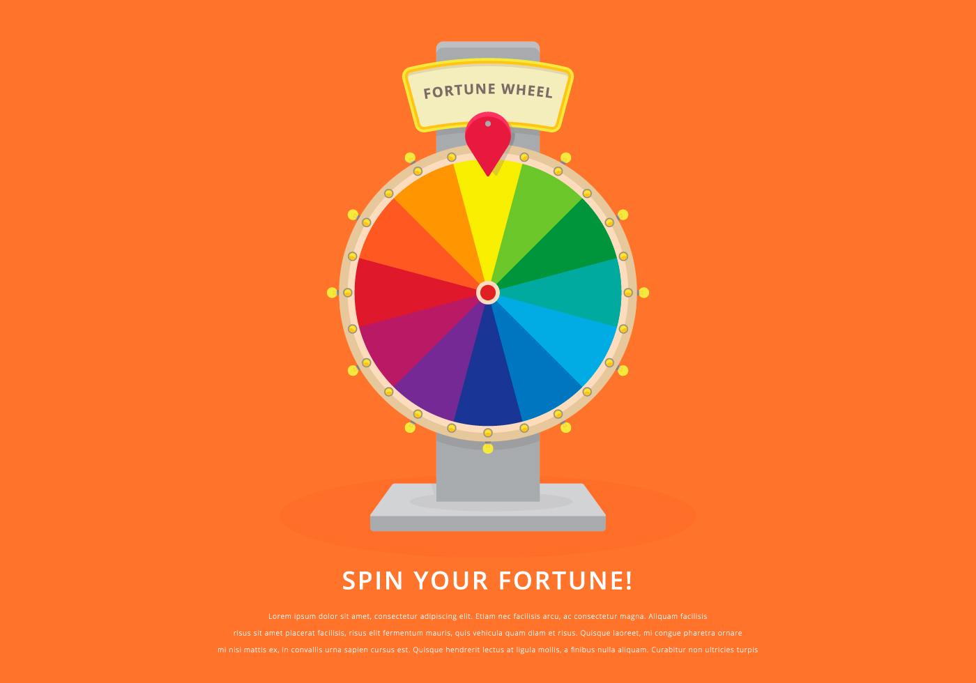 1400x980 Fortune Wheel Free Vector Art