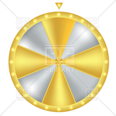 400x400 Wheel Of Fortune Vector Image Vector Artwork Of Icons And