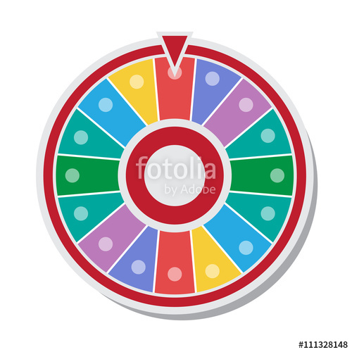 500x500 Wheel Of Fortune Vector Illustration Stock Image And Royalty Free