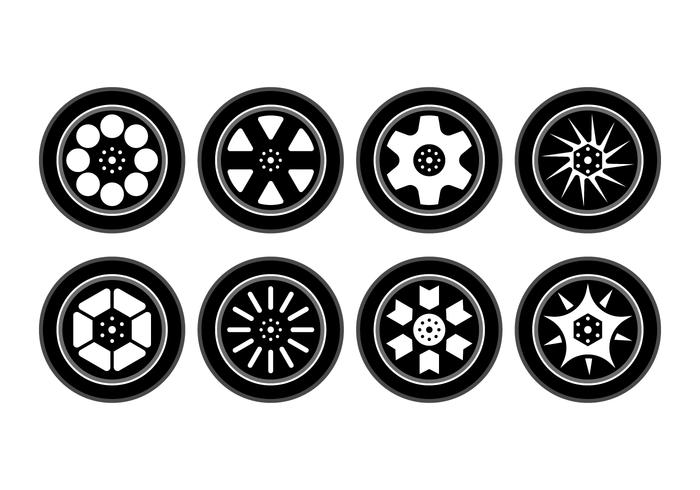 700x490 Free Alloy Wheels Vector Collection