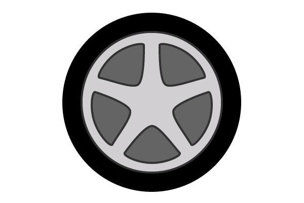 600x400 Free Car Wheel Vector Art 123freevectors