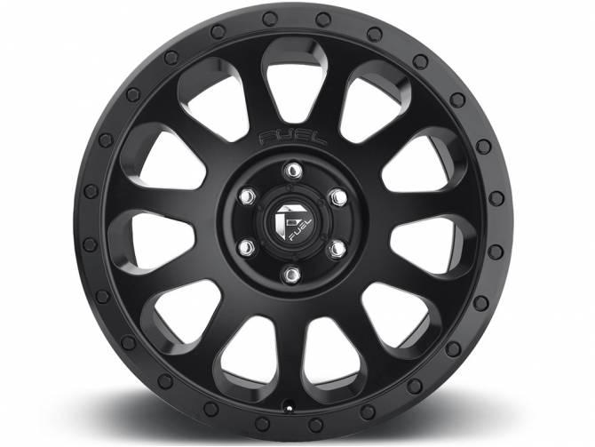 670x503 Fuel Matte Black Vector Wheels