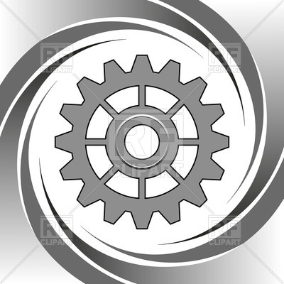 400x400 Machine Gear Wheel Vector Image Vector Artwork Of Objects