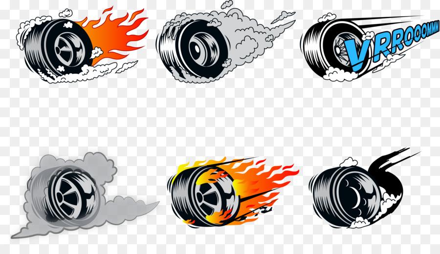 900x520 Car Wheel Burnout