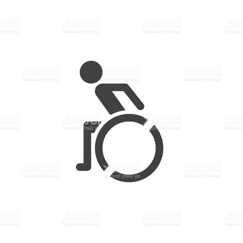 1228x1228 Wheelchair Icon Vector Handicap Solid Symbol Illustration