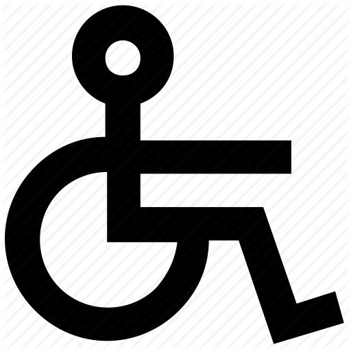 Wheelchair Logo Vector