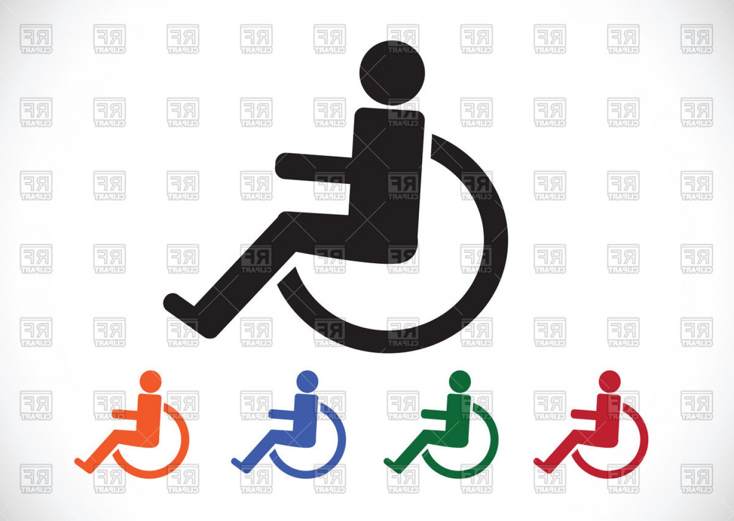 1440x1023 Handicap Vector Clip Art Lazttweet