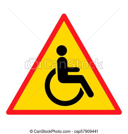450x470 Disabled Wheelchair Icon, Isolated On White. Disable Symbol Logo