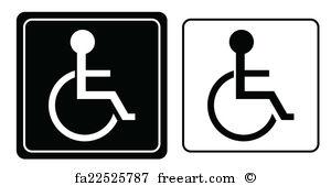 300x169 Free Handicap Symbol Art Prints And Wall Artwork Freeart