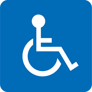 300x300 Wheelchair Accessible Logo Vector (.eps) Free Download
