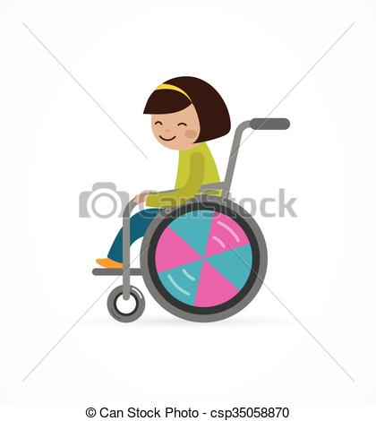 420x470 Disabled Child, Girl In A Wheelchair . Disabled Child, Boy In A