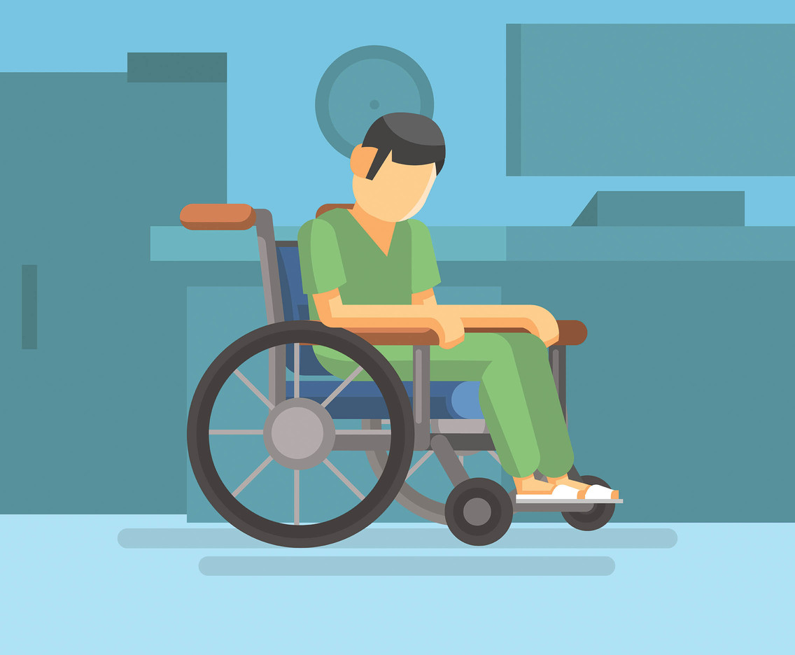 1136x936 Hospital Wheelchair Vector Vector Art Amp Graphics