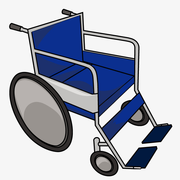 595x595 Vector Blue Wheelchair, Vector, Chair, Disability Png And Vector