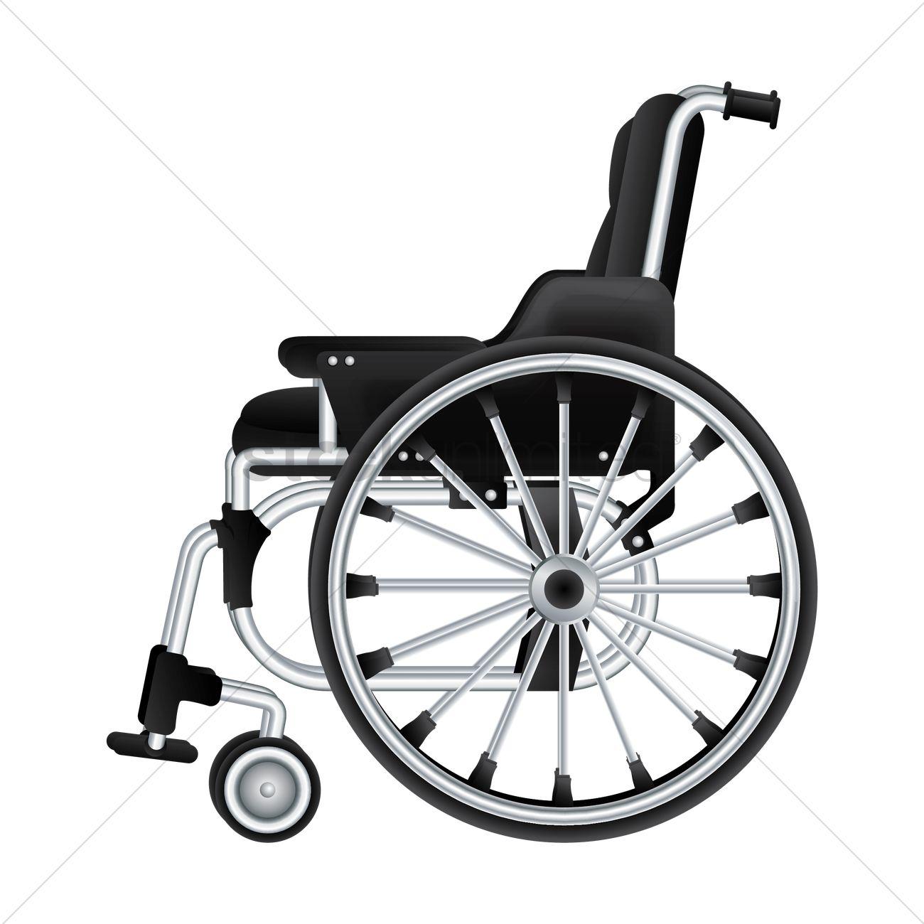 1300x1300 Wheelchair Vector Image