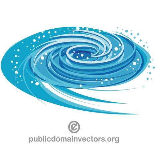 500x500 Blue Whirlpool Vector Clip Art Public Domain Vectors