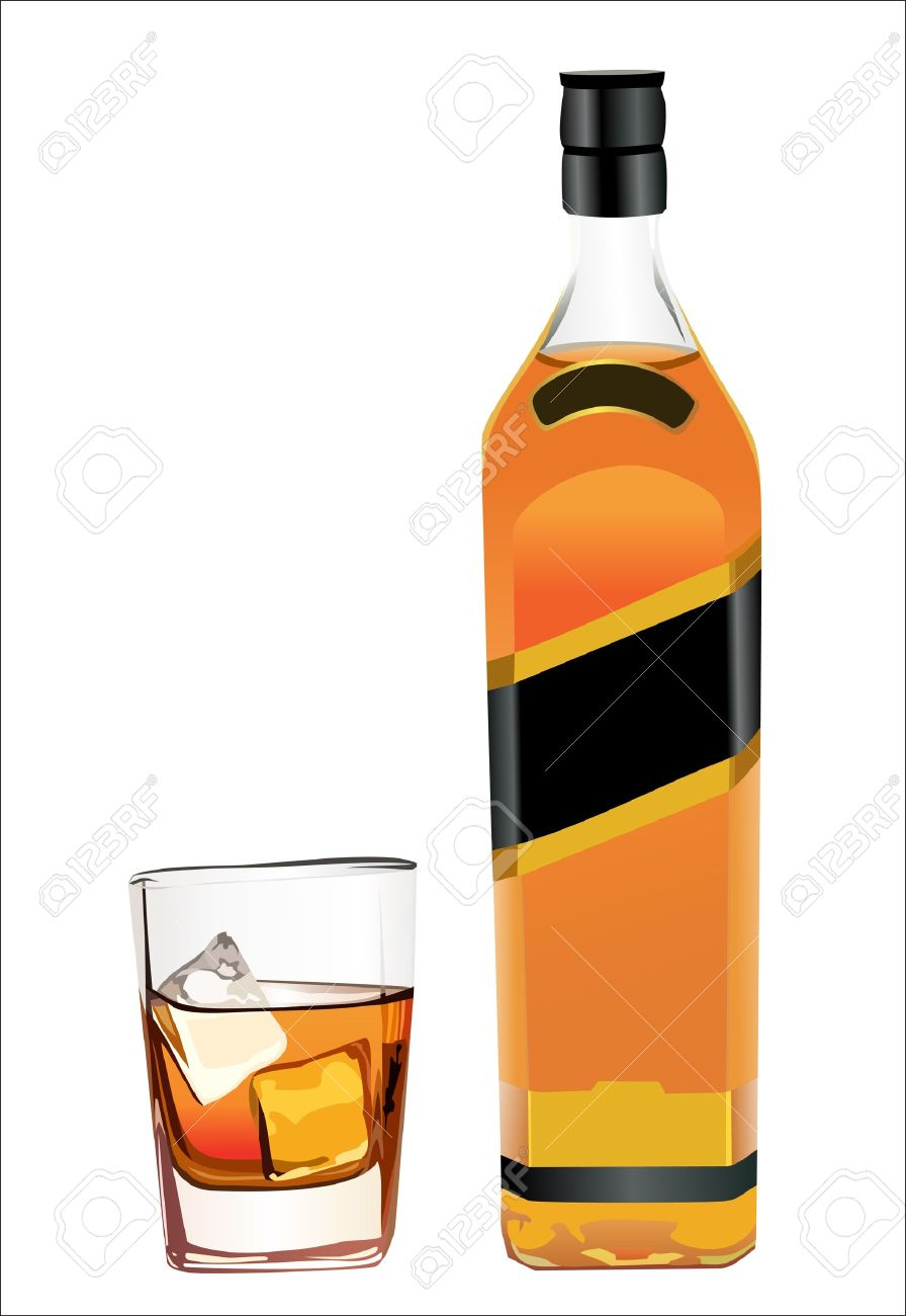 896x1300 Collection Of Free Boozed Clipart Whiskey Bottle. Download On Ubisafe