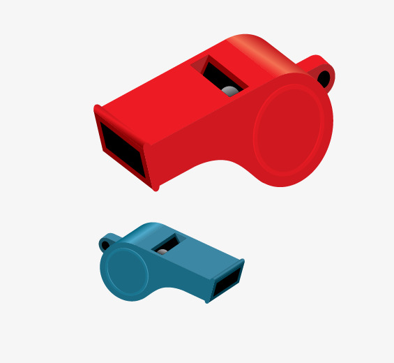 565x520 Referee Whistle Vector, Red Whistle, Blue Whistle, Whistle Png And