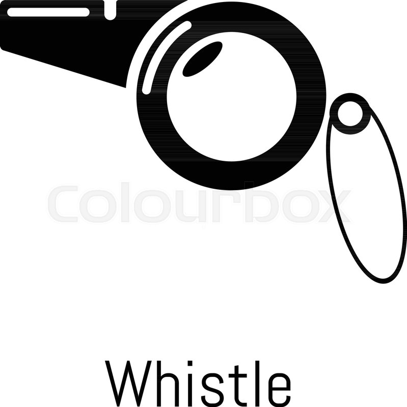 799x800 Whistle Icon. Simple Illustration Of Whistle Vector Icon For Web