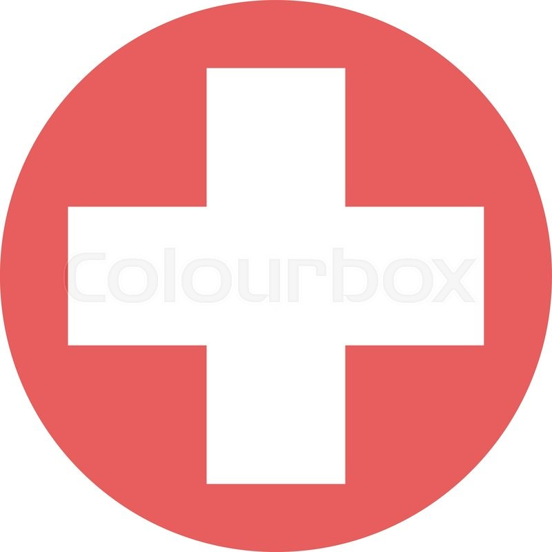 800x800 White Cross In Red Circle Isolated. Medical, Hospital, Medicine