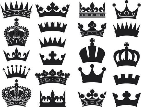 485x368 Crown Silhouette Vector Free Vector Download (6,209 Free Vector