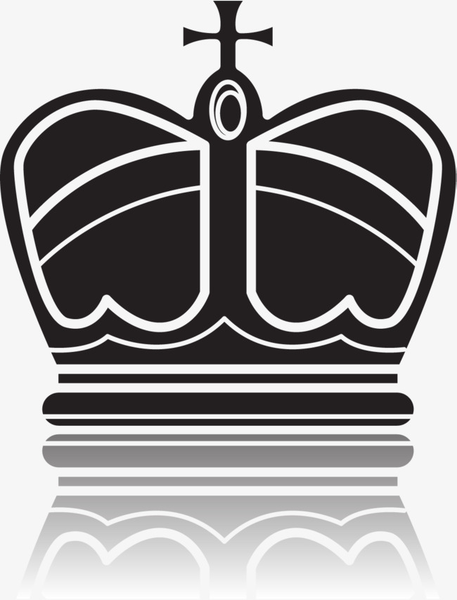 650x854 Black And White Crown, Black Vector, Crown Vector, Crown Clipart