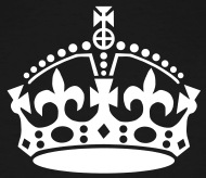 190x164 Xenostral Keep Calm And Carry On Crown Vector Add Your Text To